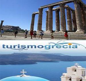 Receitas do turismo aumentaram na Grécia
