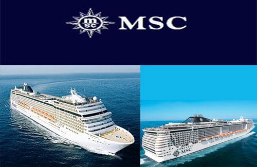 MSC Cruzeiros substitui escalas no Egipto e Ucrânia