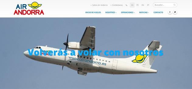 Air Andorra ATR 72-200