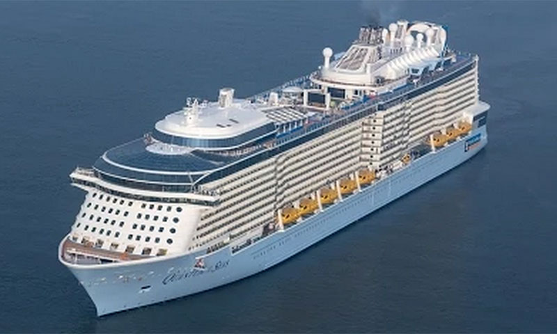 Ovation Of The Seas Incorporated On Royal Caribbean