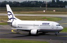 Aegean Airlines volta a ligar Lisboa a Atenas