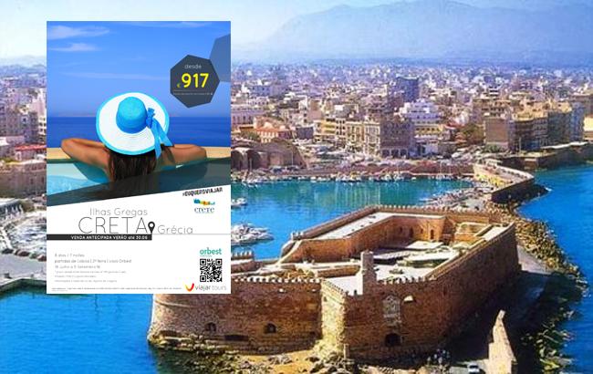 Viajar Tours prolonga Venda Antecipada para Creta