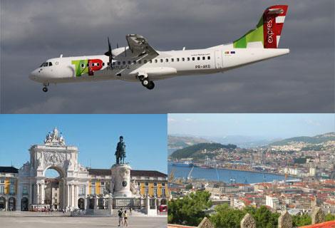 Busca vuelos baratos desde Vigo a Lisboa con TAP Portugal