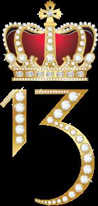 The XIII logo