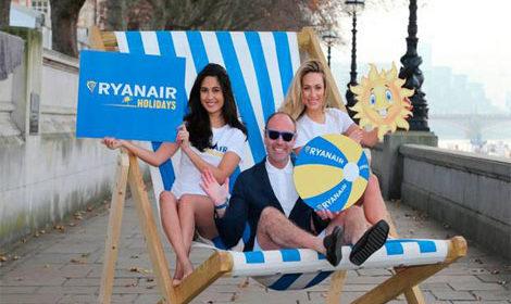 Ryanair lança novo serviço para férias