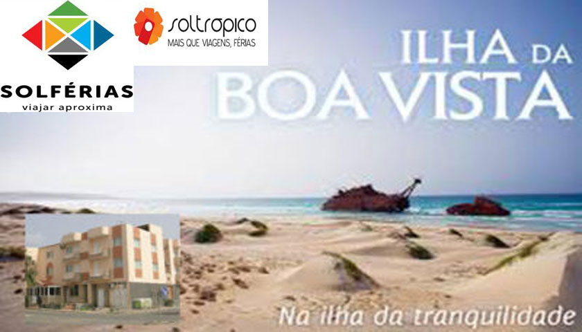Soltrópico e Solférias lançam charter fim-de-ano para Ilha da Boavista