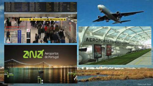 Movimento de passageiros nos aeroportos portugueses aumenta