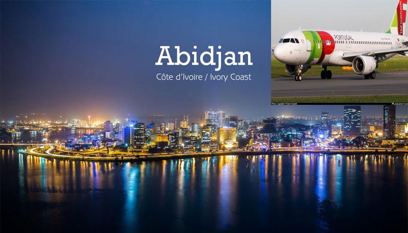 Abidjan já está disponível para reserva na TAP