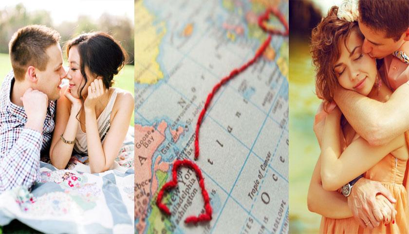 Portugueses apaixonam-se nas suas viagens