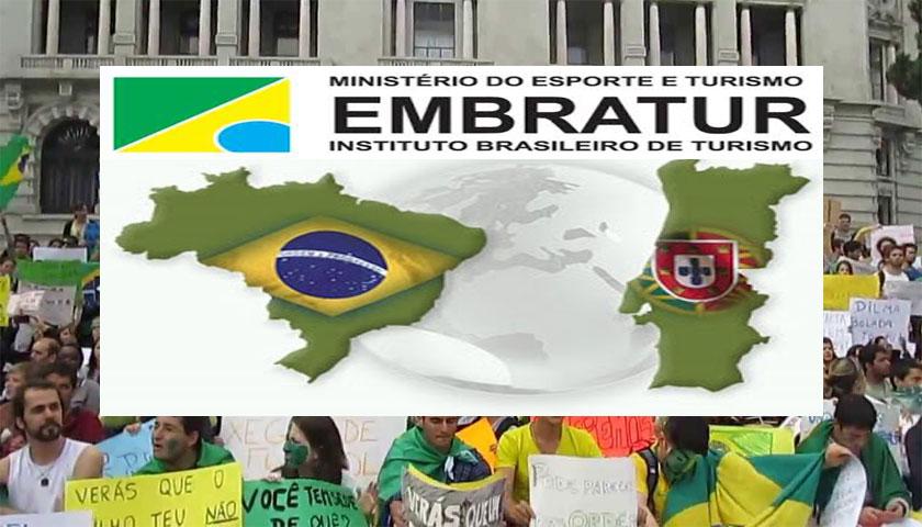 Turismo entre Brasil e Portugal movimentou 547 milhões de euros