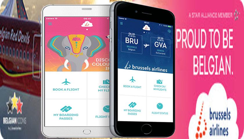 Brussels Airlines lança aplicação para telemóvel