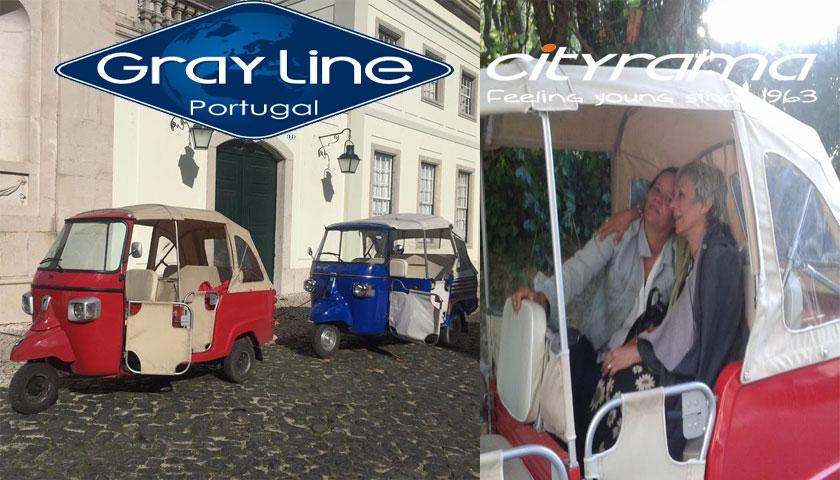 Cityrama com tuk-tuk em Sintra