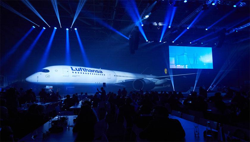 Lufthansa apresentou o novo A350-900
