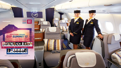 Grupo Lufthansa é o transportador oficial do QSP Summit