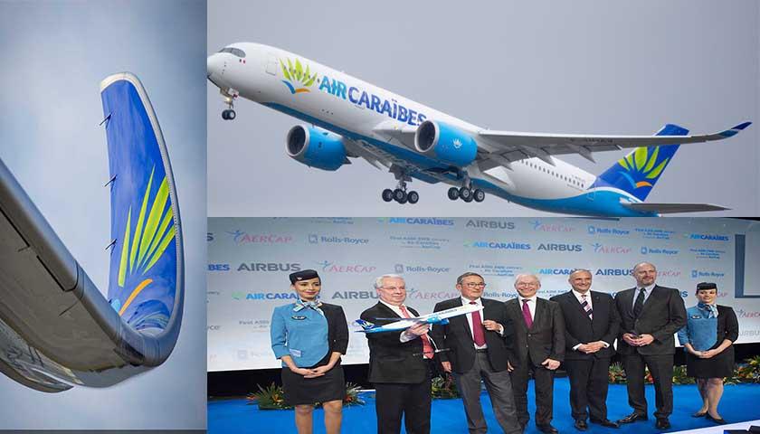 Air Caraïbes recebe primeiro A350-900