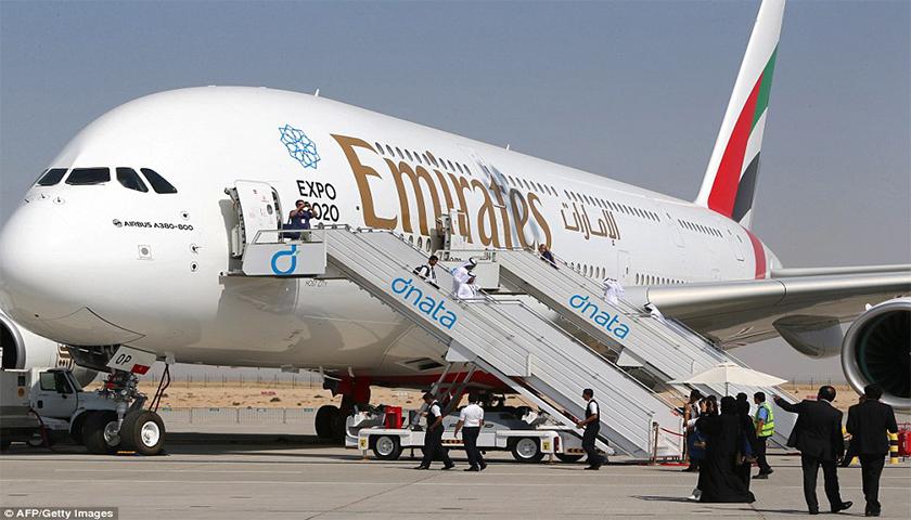 Emirates comemora primeiro ano da rota mais longa do mundo em A380