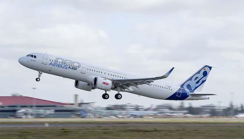 Airbus completa programa de certificação do A321neo