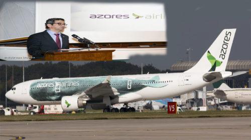 Azores Airlines: receitas cresceram 25% em 2016