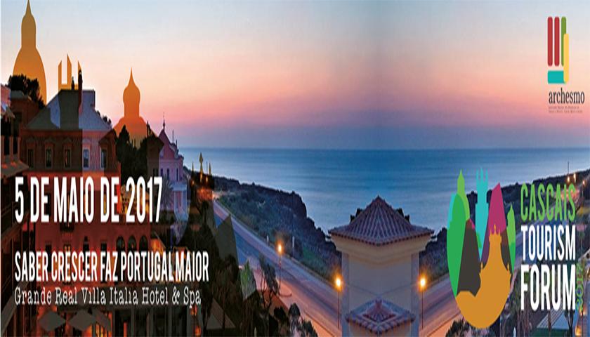 Cascais Fórum Turismo acontece dia 05 de maio