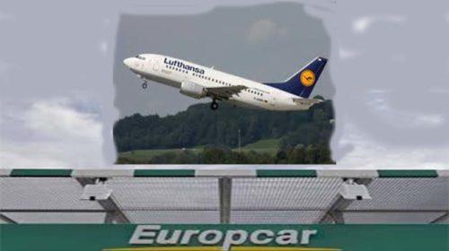 Europcar e Lufthansa anunciam parceria