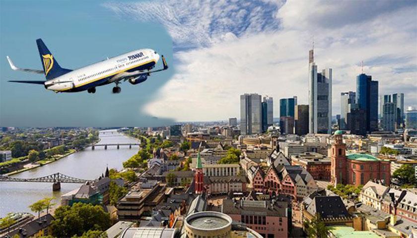 Ryanair de Frankfurt para Lisboa e Porto