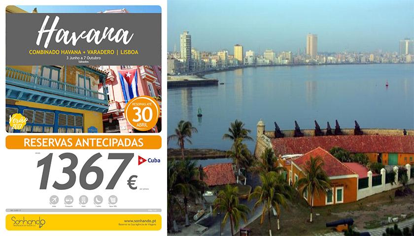 Sonhando com combinado Havana+Varadero