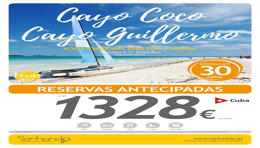 Sonhando com programas para os Cayos (Cuba)