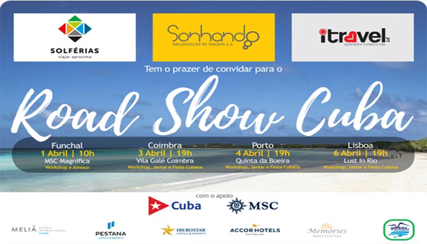 Sonhando convida agentes para o Roadshow Cuba 2017