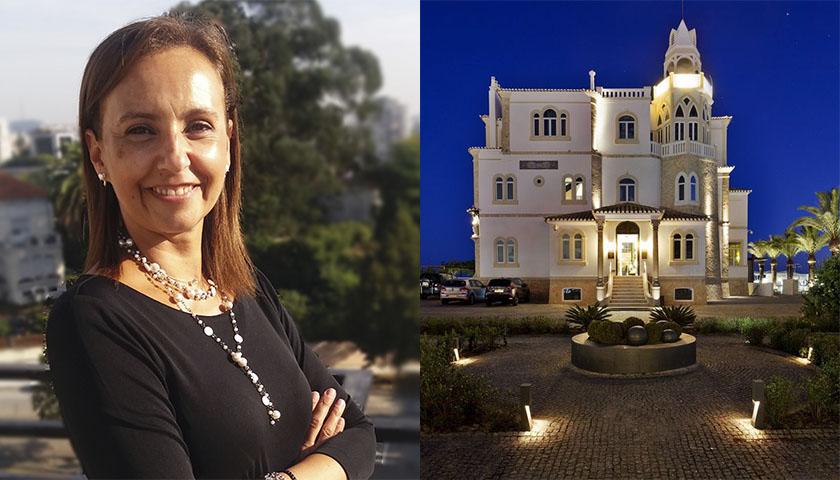 Teresa Frazão no Belavista Hotel