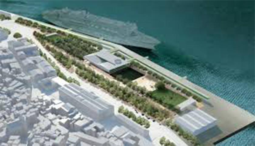 Novo terminal de cruzeiros de Lisboa, talvez em maio