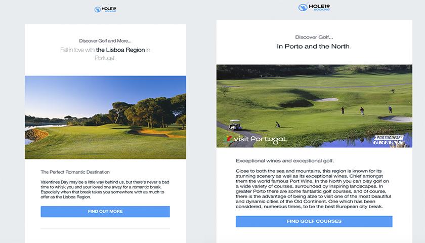 Hole19 e Turismo de Portugal juntam-se para promover o golfe no país
