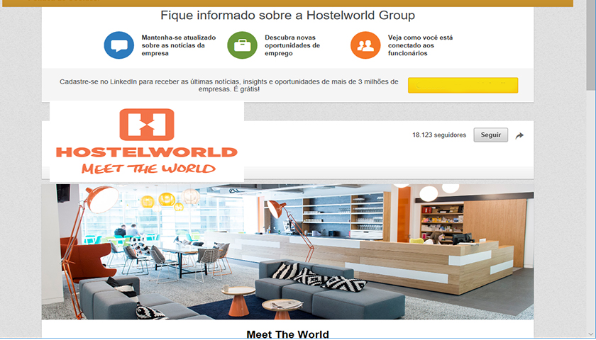 Hostelworld Group recruta para novo escritório no Porto
