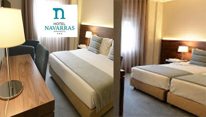 Hotel Navarras renasce agora mais moderno e renovado