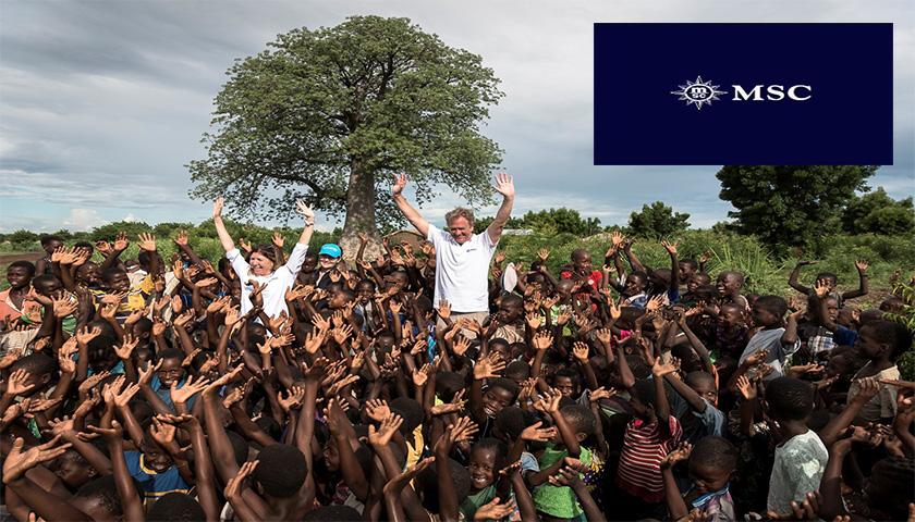 MSC Cruzeiros + UNICEF = 6.5 milhões de euros