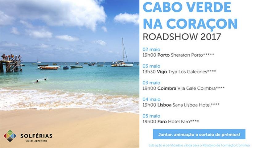 """Solférias com roadshow """"Cabo Verde na Coraçon"""""""