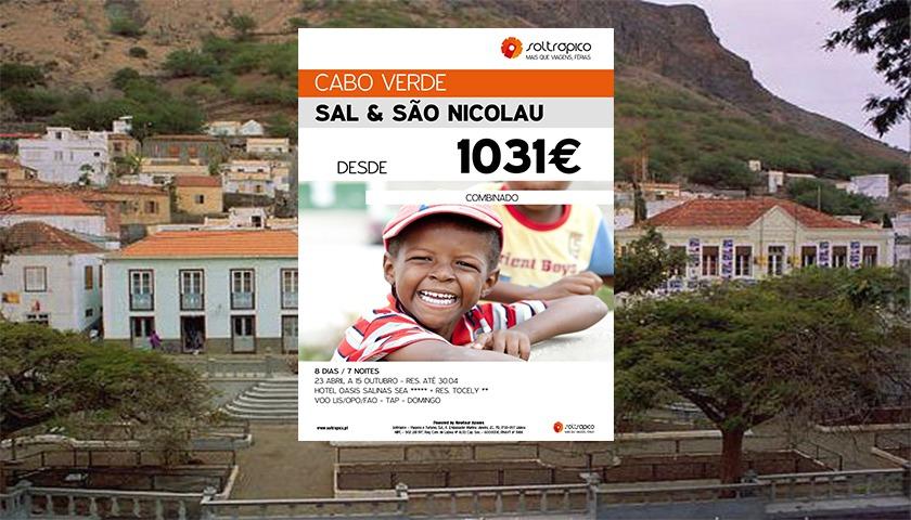"""Soltrópico com combinado """"Sal & São Nicolau"""""""