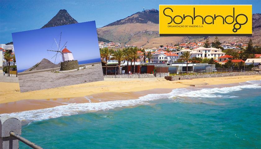 Porto Santo é uma das propostas da Sonhando para férias