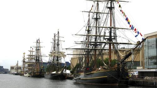 'Tall Ships Festival' pela primeira vez em Sines