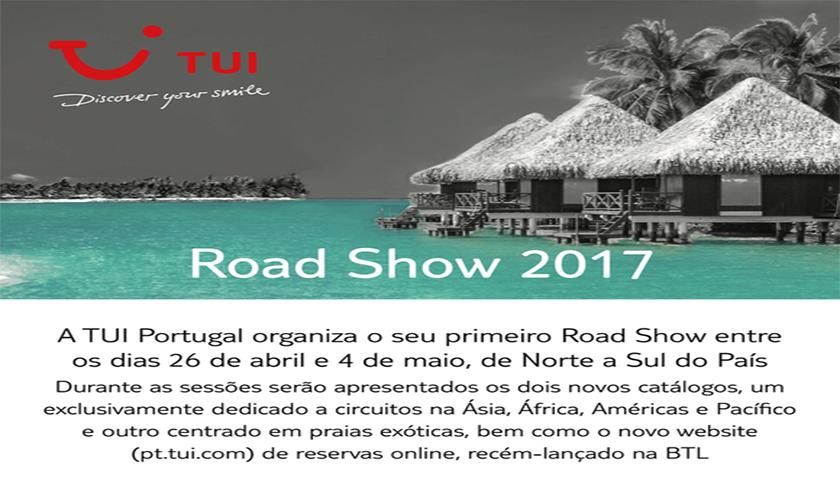 TUI Portugal vai realizar primeiro road show