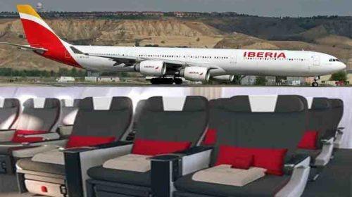 Iberia estreia nova classe Turista Premium