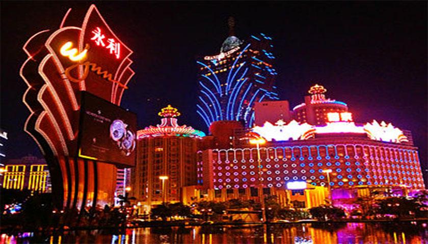 Casinos de Macau: receitas sobem em julho