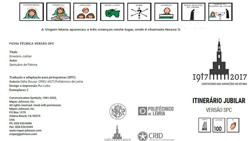 Santuário de Fátima com primeiro folheto inclusivo do mundo