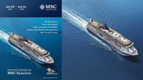 MSC Cruzeiros com escalas nos portos portugueses no novo catálogo