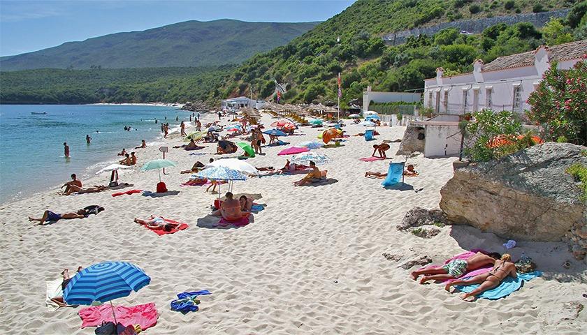 Praia dos Galapinhos, Arrábida, é a melhor da Europa