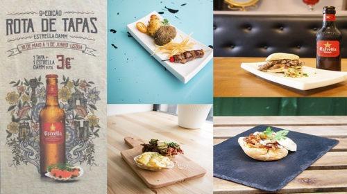Rota das Tapas regressa para animar gastronomicamente Lisboa