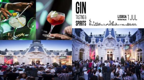 Gin Tasting & Spirits no Pestana Palace