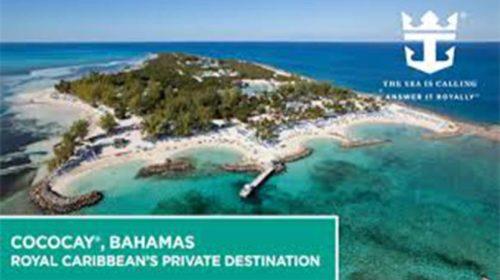 Royal Caribbean investe nas Bahamas