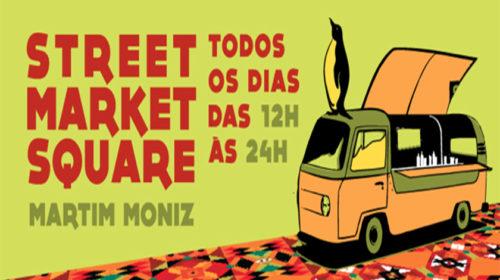 Street Market Square no Martim Moniz (Lisboa)