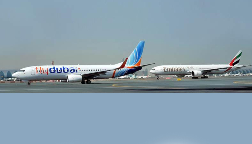 Emirates e flydubai unem sinergias