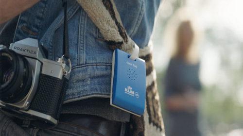 KLM lança etiqueta áudio inteligente para Amesterdão